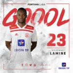 VIDEO: Watch Mohammed Lamine's spectacular league goal for AS Trencin in Slovakia