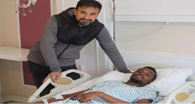 Injured Kayserispor midfielder Bernard Mensah undergoes surgery; out for SIX weeks