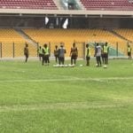 Nine foreign-based stars join Black Meteors training at Accra Sports Stadium