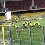 Black Stars train under floodlights on Wednesday night- Kwadwo Asamoah and Caleb Ekuban join squad
