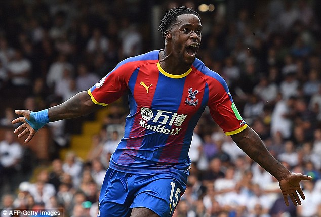 Crystal Palace star Wilfred Zaha hails 'indispensable' Jeffrey Schlupp
