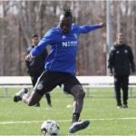 Dominic Oduro on target for Charlotte Independence in defeat against Indy Eleven in USL