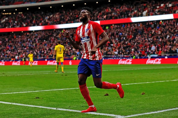 No offers made for Atletico Madrid's Thomas Partey - agent reveals