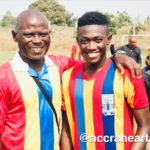 Manaf Umar's progress at Hearts of Oak excites Auroras team manager Nathaniel Ofosu