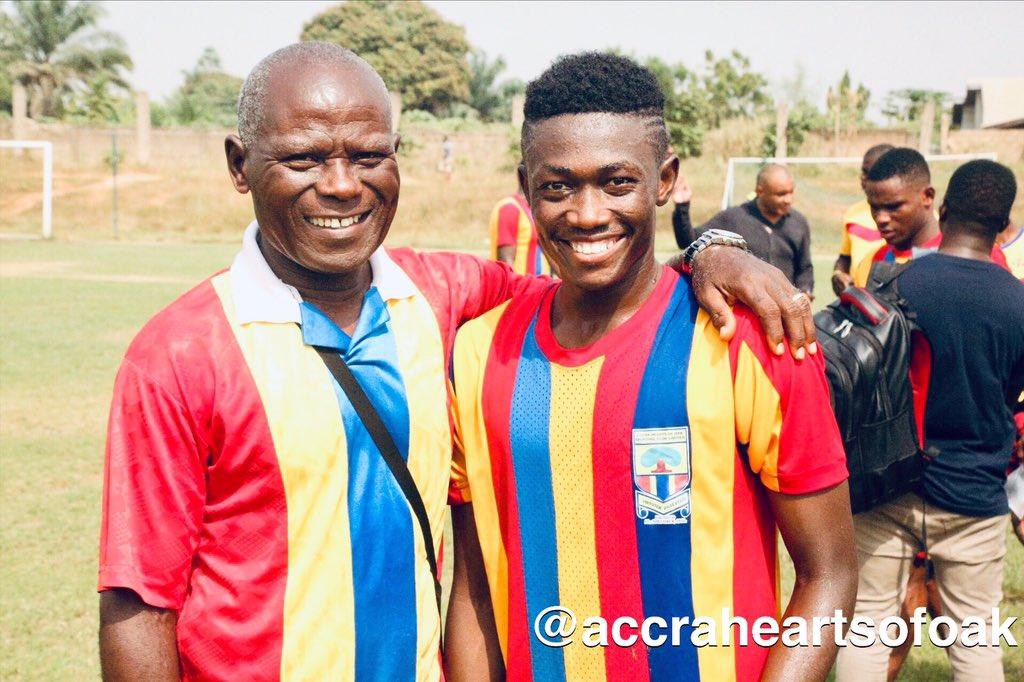Manaf Umar\'s progress at Hearts of Oak excites Auroras team manager Nathaniel Ofosu