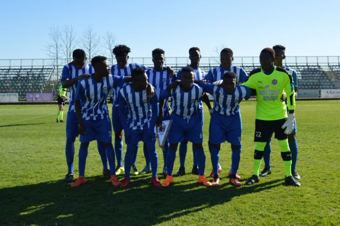PHOTOS: Berekum Chelsea lose 1-0 to AC Milan at Viareggio Cup
