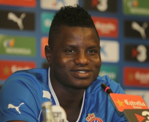 Spain-based midfielder Mubarak Wakaso vows to give off his best for Ghana