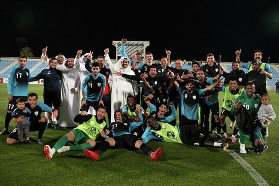 Nana Poku scores as Al Wakra are crowned Qatari second-tier champions to secure top-flight promotion