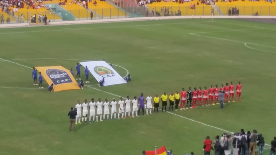 Match Report: Ghana 1-0 Kenya- Debutant Caleb Ekuban seals win to send Black Stars top of Group F