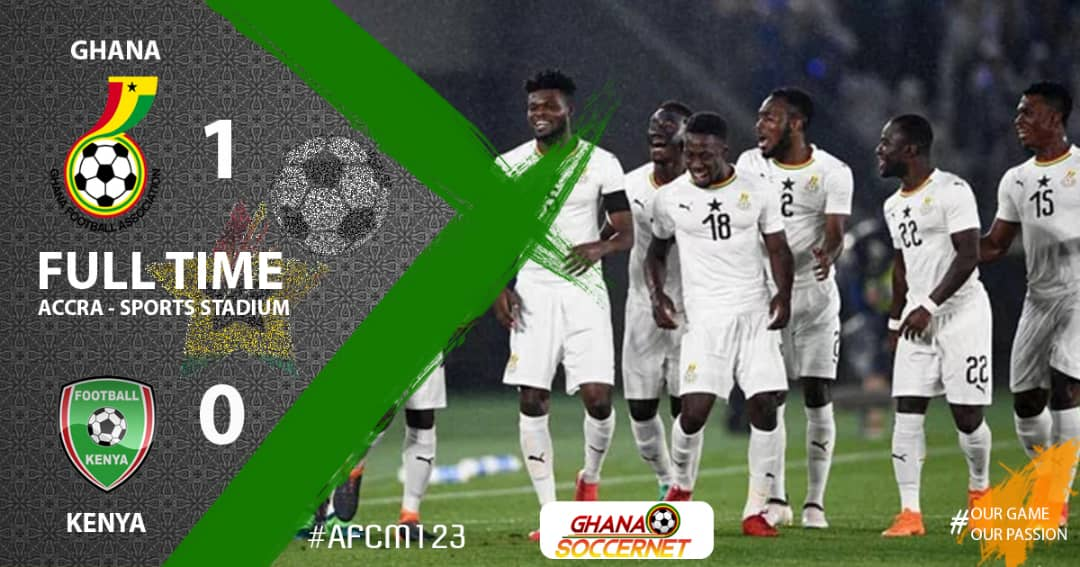 OFFICIAL: Ghana qualifies for 22nd AFCON tournament