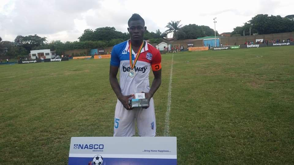 Liberty Professionals midfielder Simon Zibo emerges on the radar of Asante Kotoko