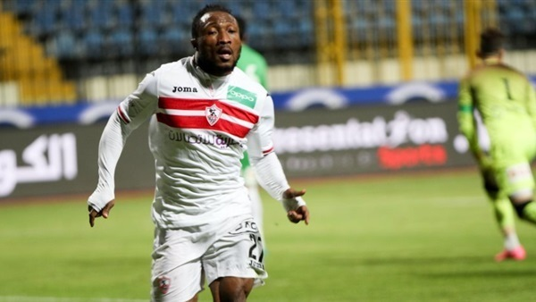 Breaking News: Ghanaian striker Ben Acheampong sentenced to three years in prison in Egypt
