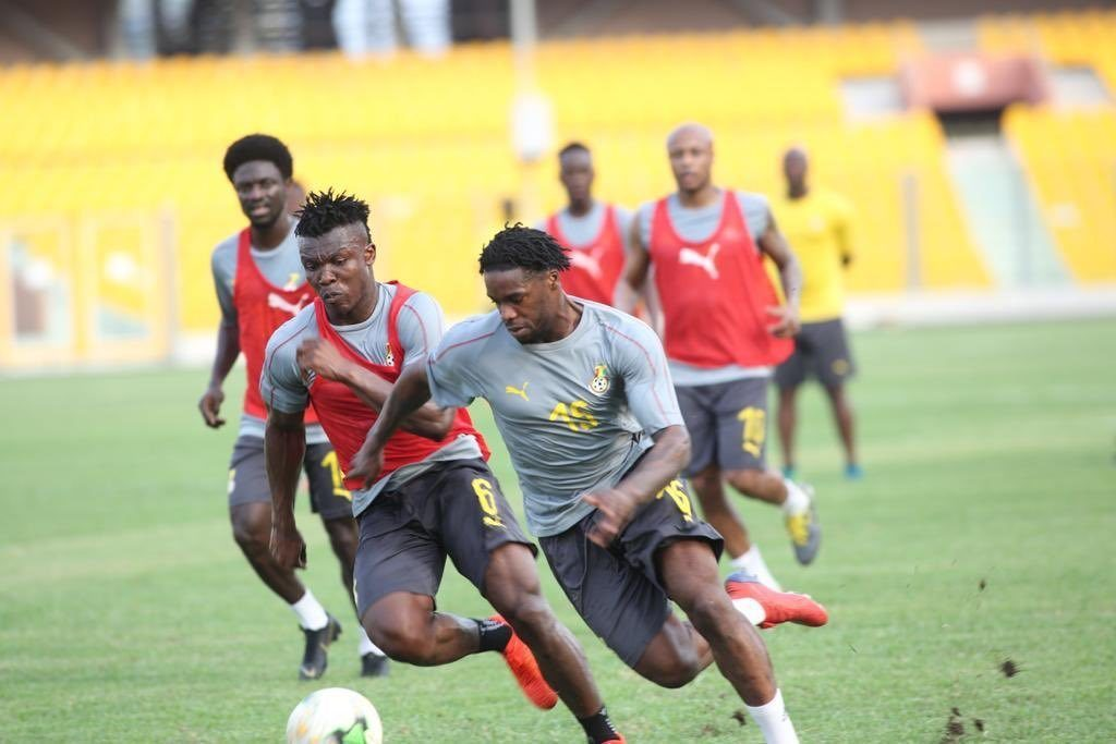2019 AFCON qualifier: Black Stars reschedule Wednesday training time to acclimatize