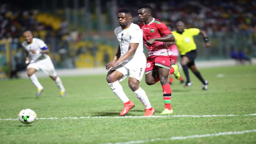 AFCON 2019 Qualifier: Debutant Caleb Eku-BANGS Ghana to victory on birthday