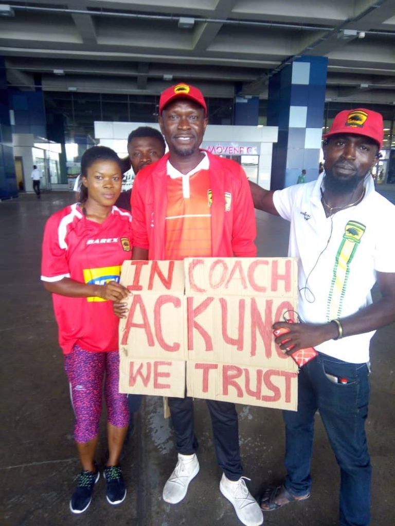 """Kotoko supporters offer their backing to CK Akonnor, warn \'trigger happy"""" management"""