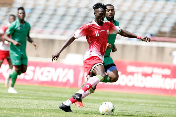 2019 AFCON Qualifier: Kenya names final squad for Ghana clash, Were dropped