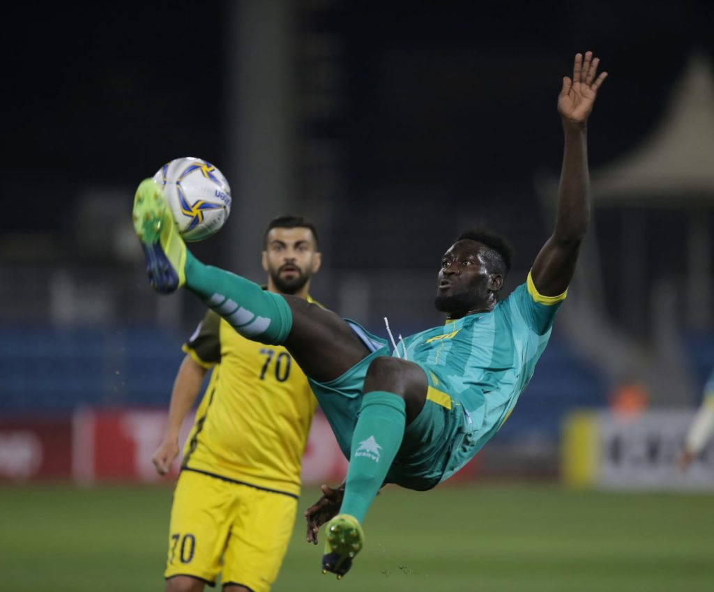 Joseph Adjei shines again as Al Malkiya continue fairytale run in AFC