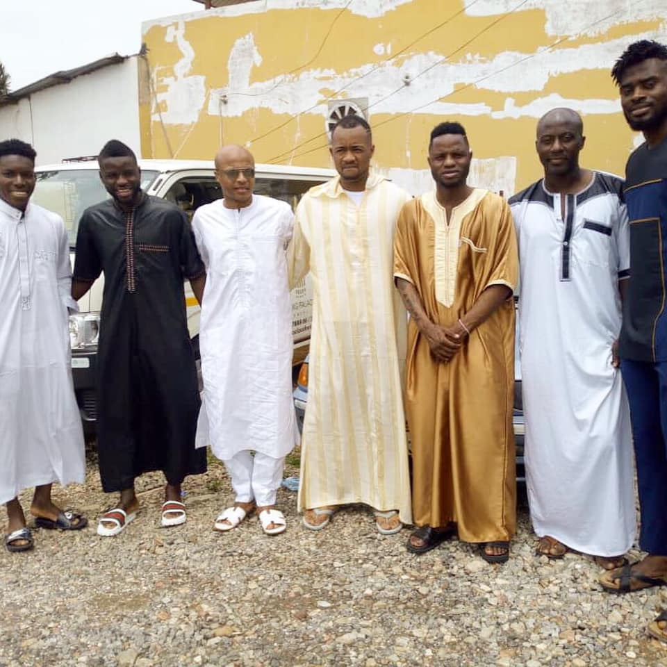 Muslim Black Stars observe \'Jummah\' Friday congregational prayer ahead of Kenya clash