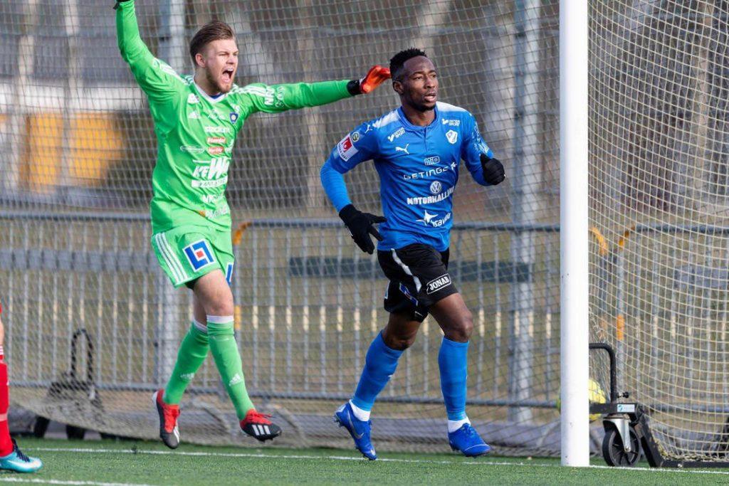 VIDEO: Watch Karim Sadat's audacious strike for Halmstads BK in Swedish Cup