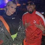 Kevin-Prince Boateng spotted with 'new girlfriend' at a concert in Berlin