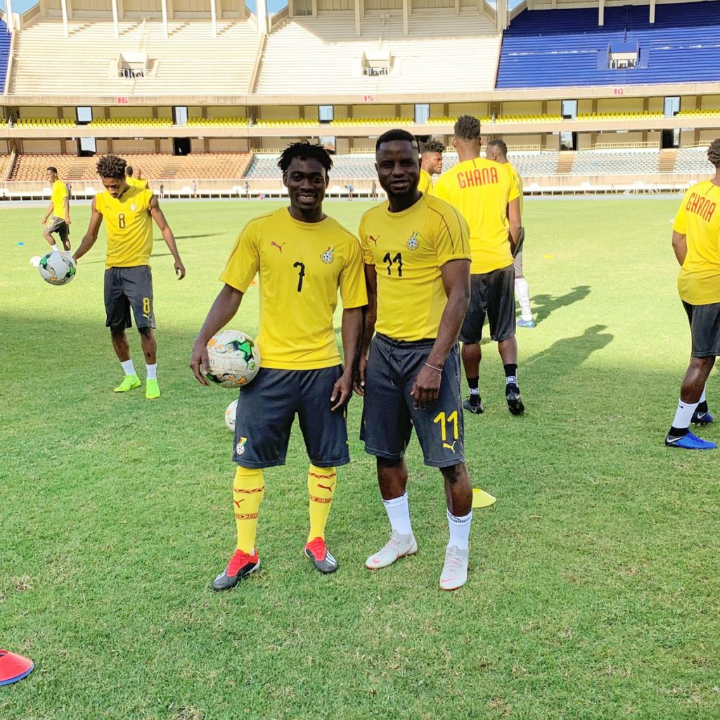 AFCON 2019 Qualifier: Mubarak Wakaso congratulates Black Stars over Kenya victory