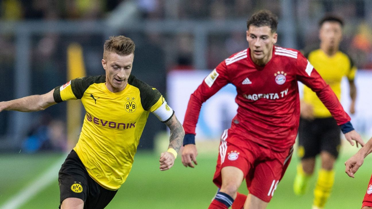 Bayern Munich vs. Borussia Dortmund: The one match you can't afford to miss this weekend