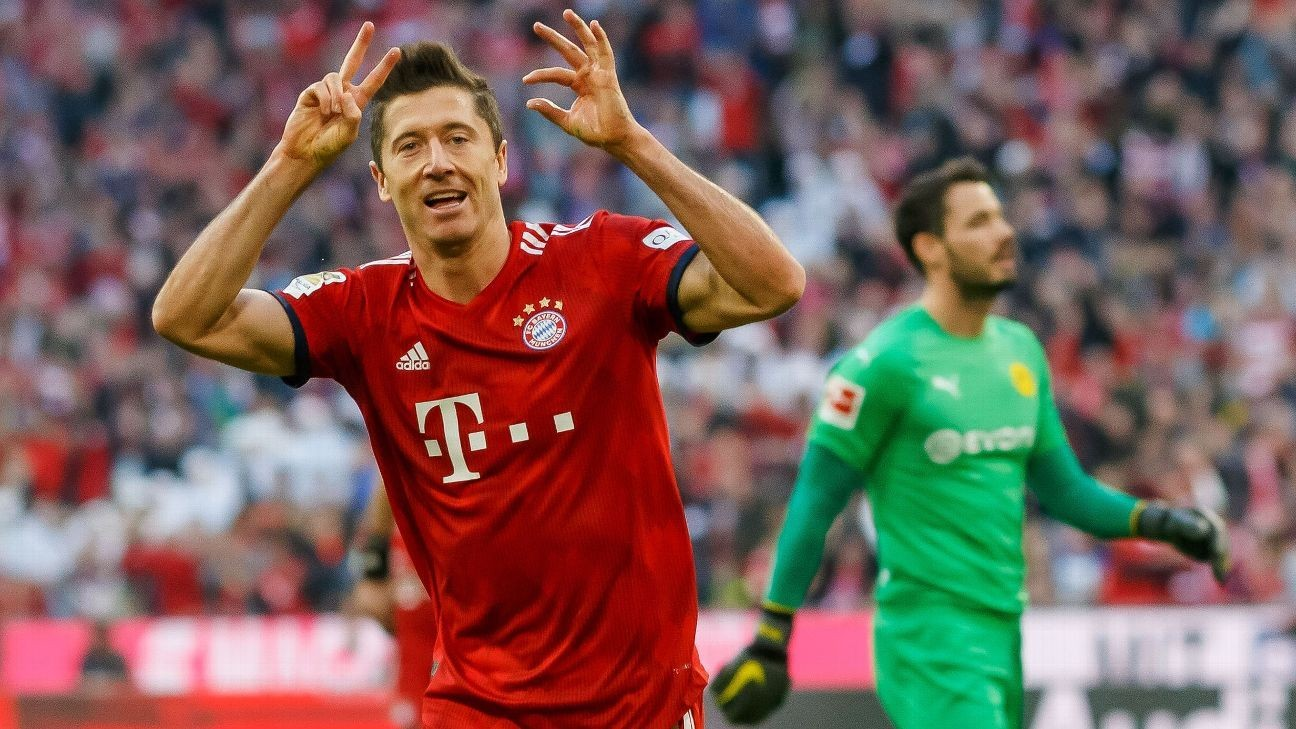 Bayern crush Dortmund to take lead in Bundesliga title race
