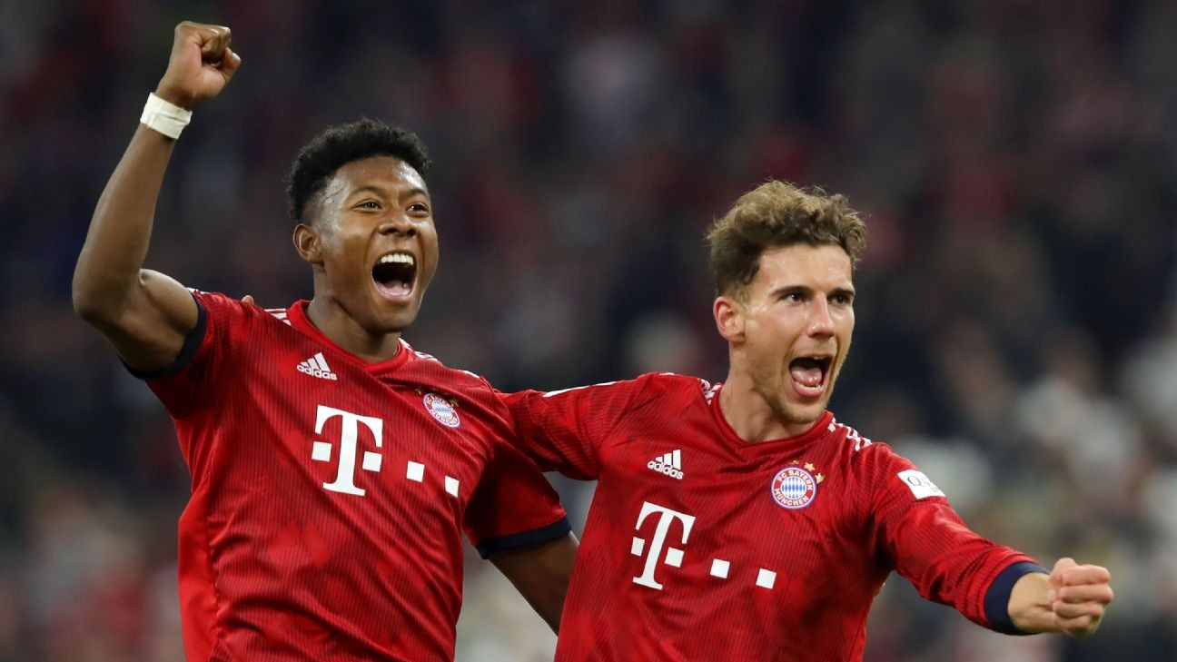 Bayern vs. Dortmund was no contest as Bundesliga giants seized control of title race with five-goal rout