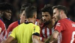 Diego Costa: Running Down the Atletico Madrid Star's Maddest Moments After Latest Sweary Dismissal