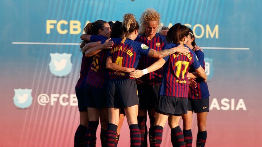 FC Barcelona turn on the style against Malaga