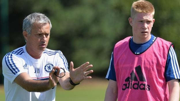 Kevin de Bruyne: I only spoke to Jose Mourinho twice at Chelsea