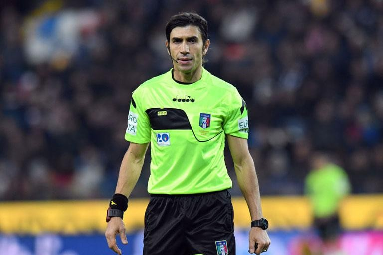 LAZIO-UDINESE: CALVARESE CONFIRMED AS THE REFEREE