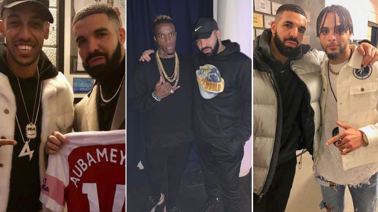 Has 'Drake Curse' hit European soccer? PSG humiliation suggests they're latest victims