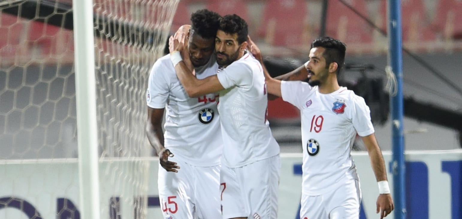 Group B: Kuwait SC 2-1 Al Najma