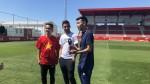 LaLiga Santander Experience puts Tomas Vaclik and Jesus Navas to the test