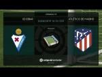 Calentamiento SD Eibar vs Atlético de Madrid