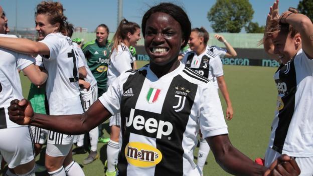 Eniola Aluko Scores As Juventus Women Retain League Title