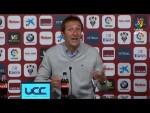 Rueda de prensa de Ramis tras el Albacete BP vs UD Las Palmas (4-2)