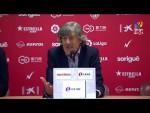 Rueda de prensa de Enrique Martín tras el Nàstic vs Real Sporting (0-0)