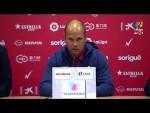 Rueda de prensa de José Alberto tras el Nàstic vs Real Sporting (0-0)