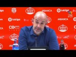Rueda de prensa de Jiménez Monteagudo tras el CD Lugo vs Granada CF (1-2)