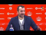 Rueda de prensa de Diego Martínez tras el CD Lugo vs Granada CF (1-2)
