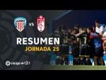 Resumen de CD Lugo vs Granada CF (1-2)