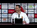 Rueda de prensa de Vicente Moreno tras el RCD Mallorca vs CF Rayo (2-0)