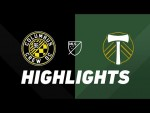 Columbus Crew SC vs. Portland Timbers | HIGHLIGHTS - April 20, 2019