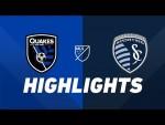 San Jose Earthquakes vs. Sporting Kansas City | HIGHLIGHTS - April 20, 2019