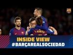 BARÇA 2-1 REAL SOCIEDAD | Behind the scenes