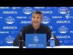 Rueda de prensa de José Luis Martí tras el RC Deportivo vs Extremadura UD (1-2)