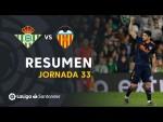 Resumen de Real Betis vs Valencia CF (1-2)