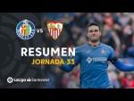 Resumen de Getafe CF vs Sevilla FC (3-0)